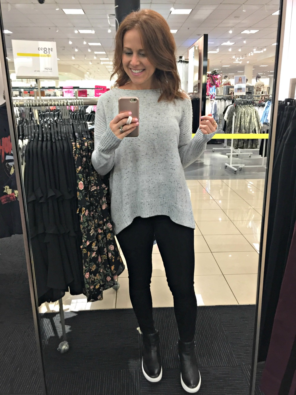 Nordstrom Anniversary sale 2017 // The Modern Savvy shares her 50 top finds, plus lots of dressing room selfies to see how everything looks on a real girl - Nordstrom Anniversary Sale Top 50 Picks featured by popular Florida style blogger, The Modern Savvy