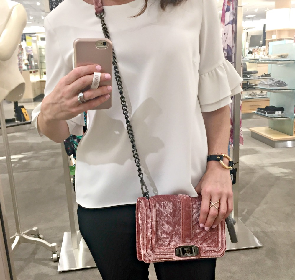 Nordstrom Anniversary sale 2017 Rebecca Minkoff purse, plus 50 more top picks and fitting room selfies