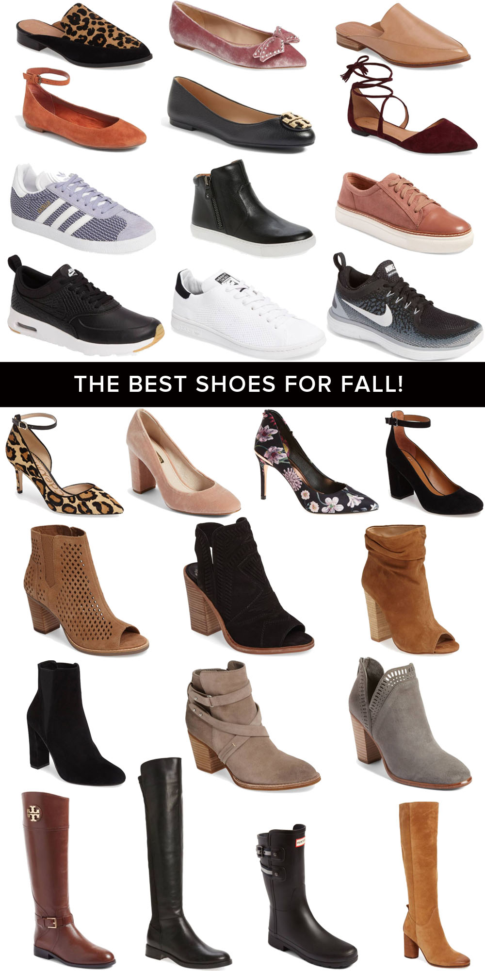 The Best Shoes for Fall (and all currently on sale!)