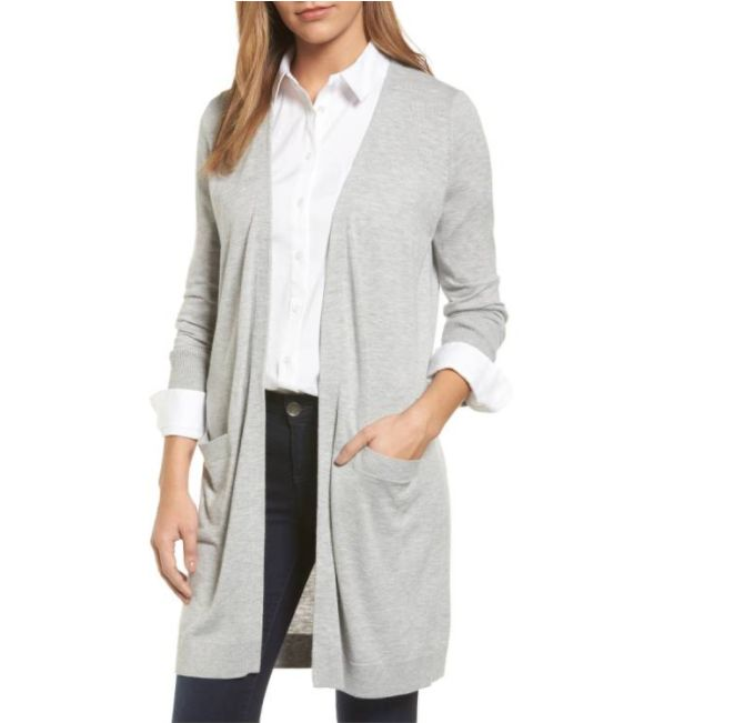 cozy cardigan from the nordstrom anniversary sale