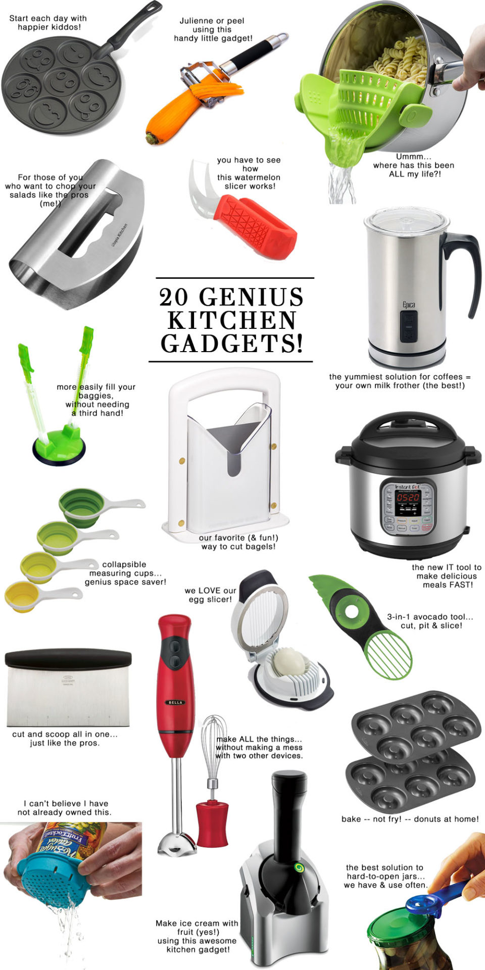The 20 Best & Most useful kitchen gadgets // the modern savvy, a life & style blog