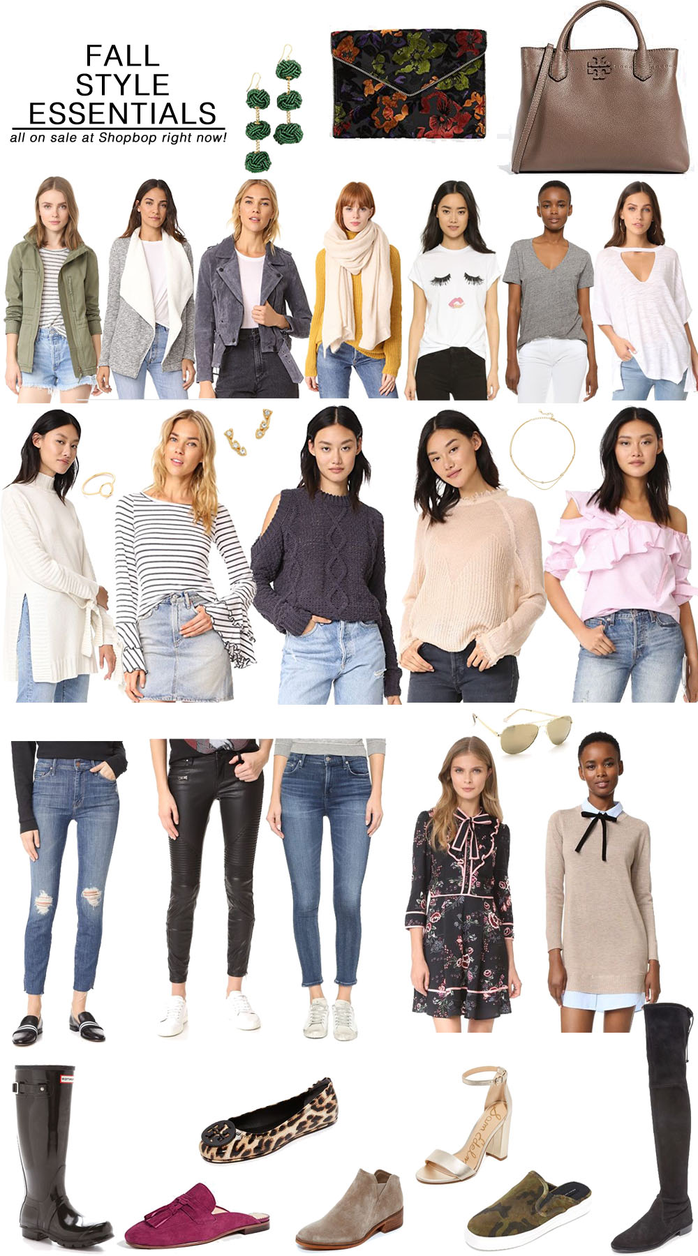 Best Fall Style Essentials from Shopbop // the modern savvy, a life & style blog