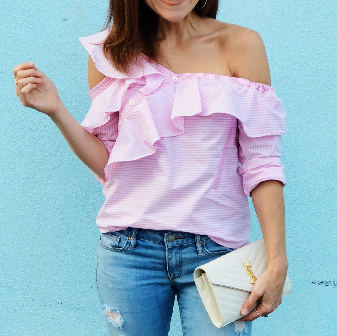 Pink ruffles! // the modern savvy - Fall Style Essentials by popular Florida style blogger The Modern Savvy