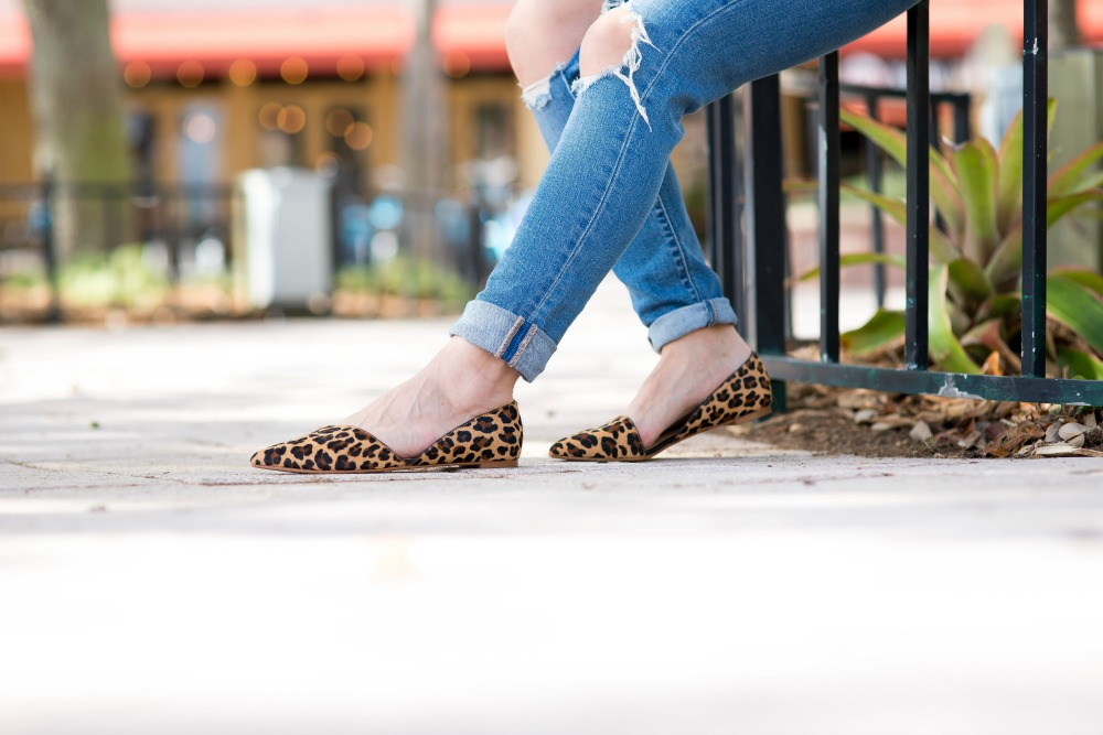 leopard flats - The Best Cyber Week Sales by popular Florida style blogger The Modern Savvy
