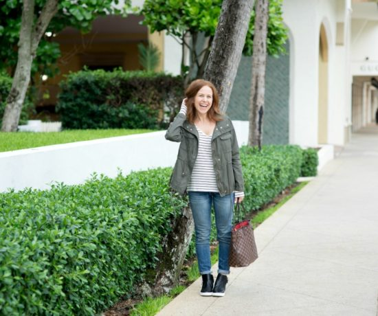 The mom-on-the-go easy fall uniform