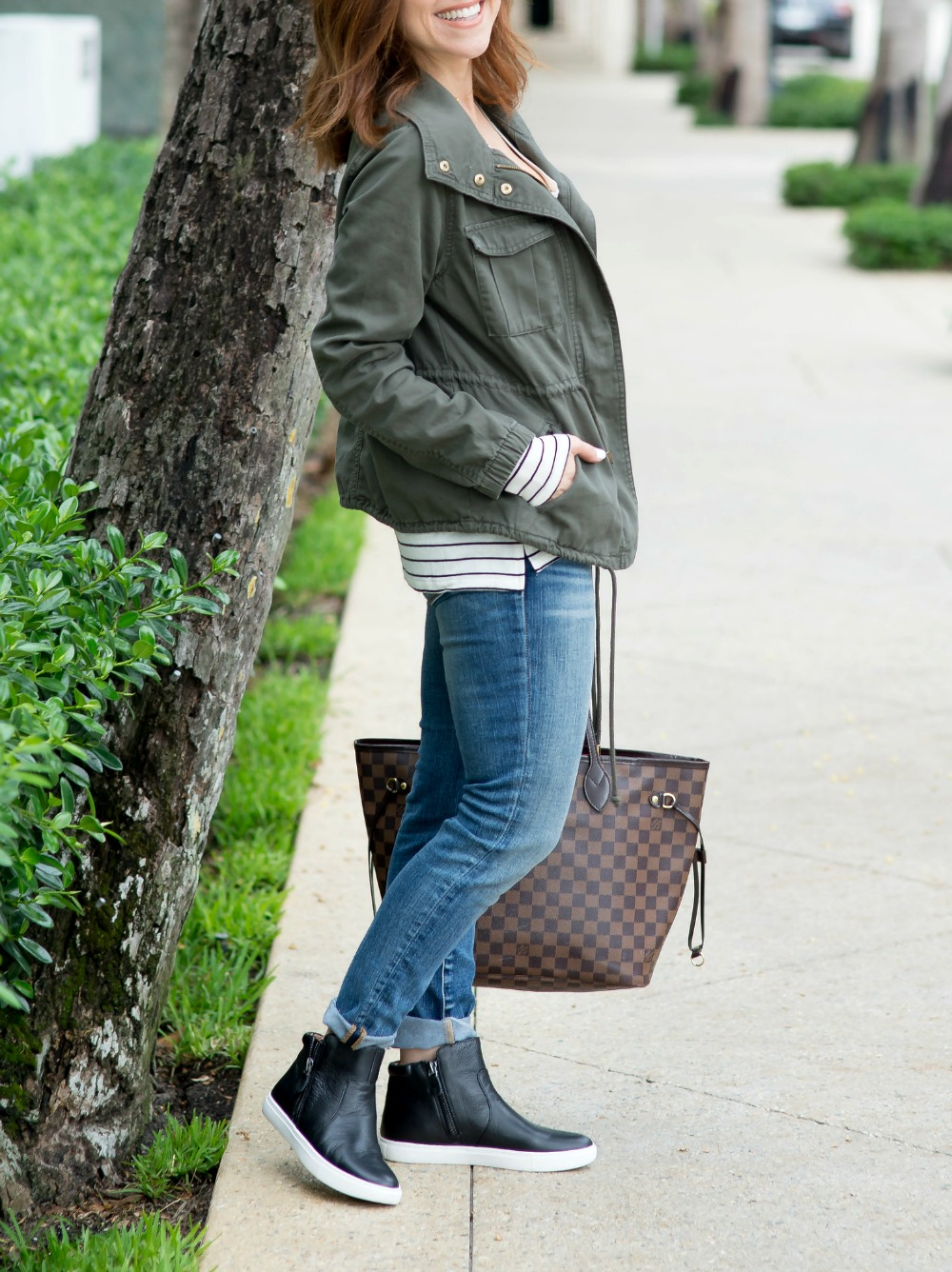 Fall outfit inspiration with cargo jacket // the modern savvy, a life & style blog