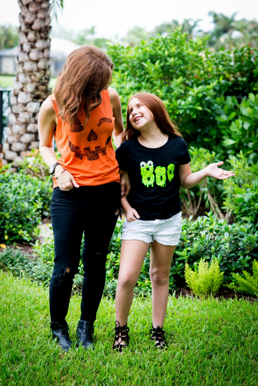Super cute Halloween tees for you and your little one