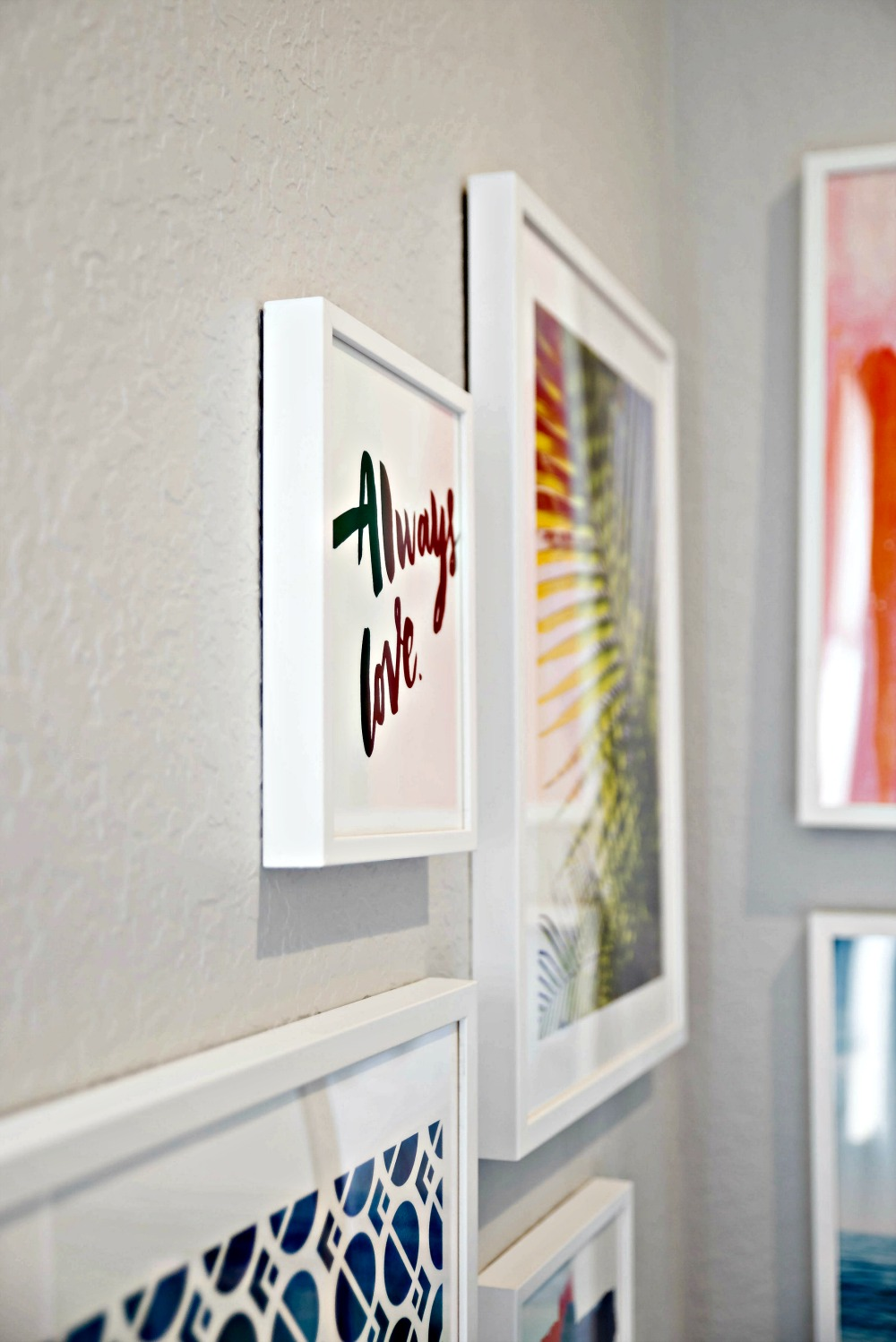 Modern gallery wall inspiration