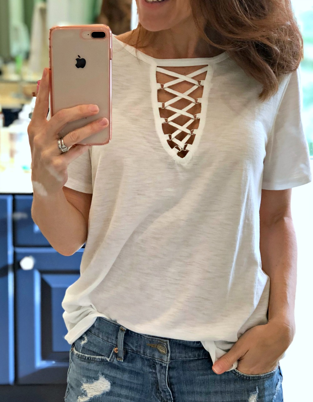 The t-shirt update: six tees worth adding to your closet now // the modern savvy - The Six Cutest Fall TShirts For Your Wardrobe by popular Florida fashion blogger The Modern Savvy