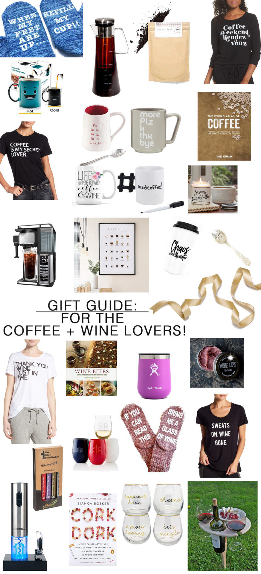 Awesome gift ideas for the coffee & wine lovers