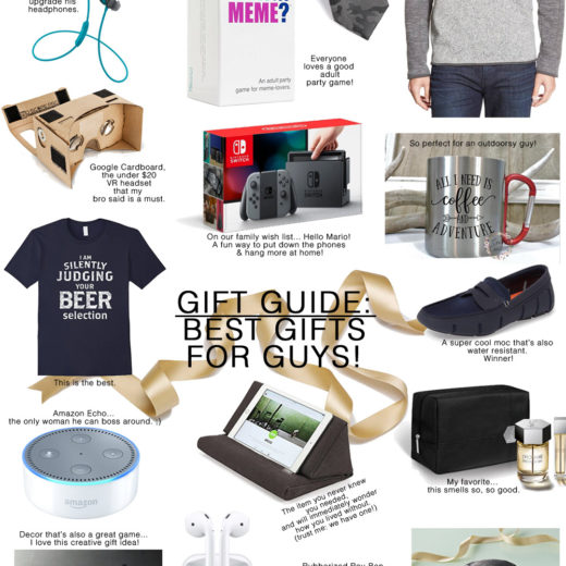 Awesome Gifts for the Guys