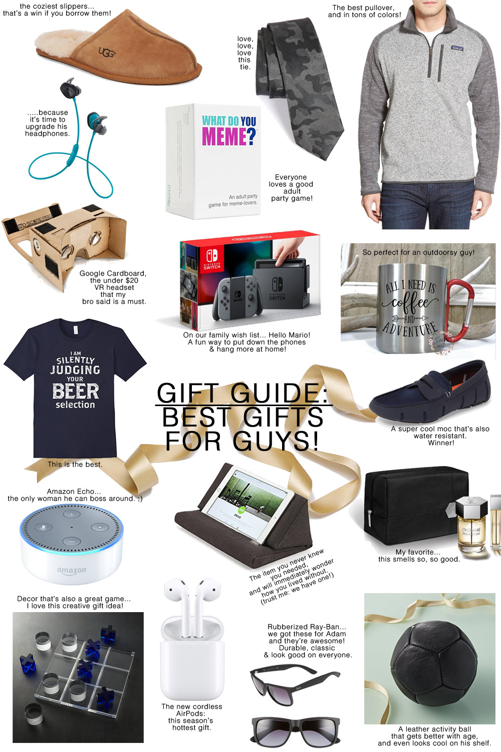 Gift Guide Awesome Gifts For Guys The Modern Savvy