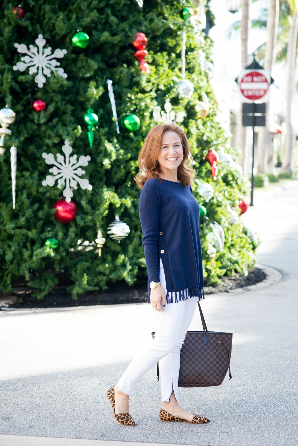 White denim in the winter -- why you should do it & how to style it