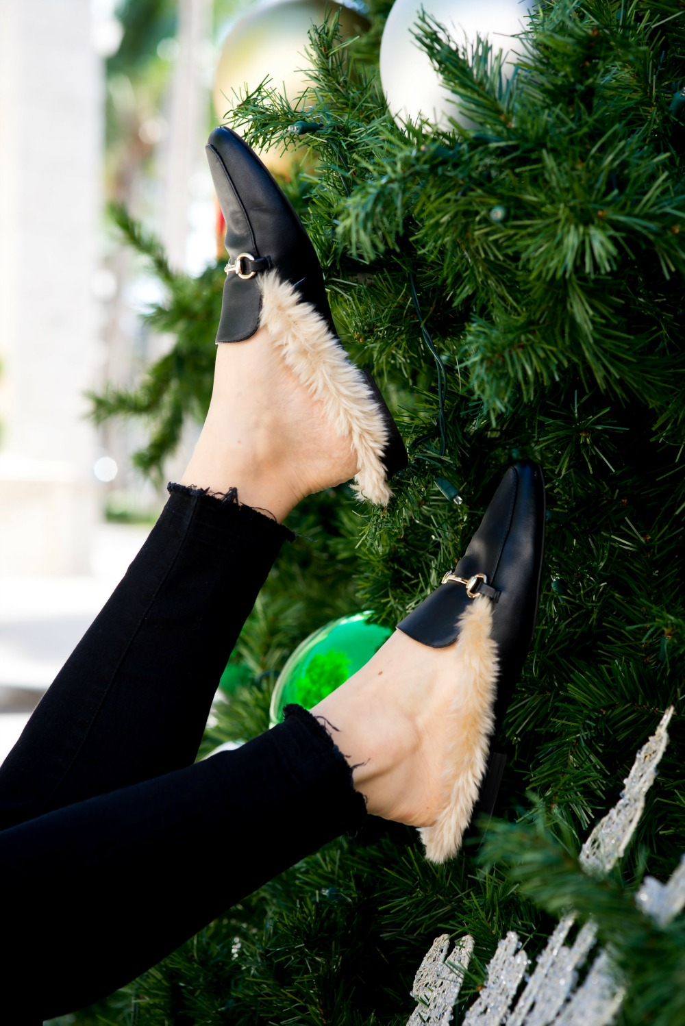 The best look for less for the popular Gucci fur loafers (they're under $25)! // the modern savvy