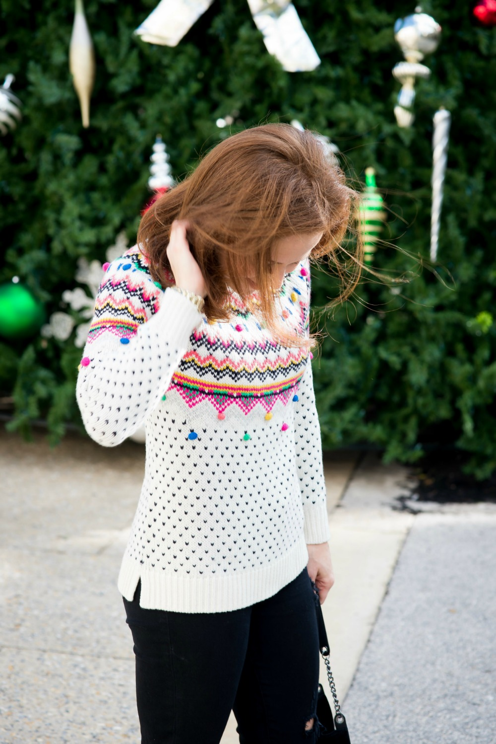 Fair isle sweater // the modern savvy