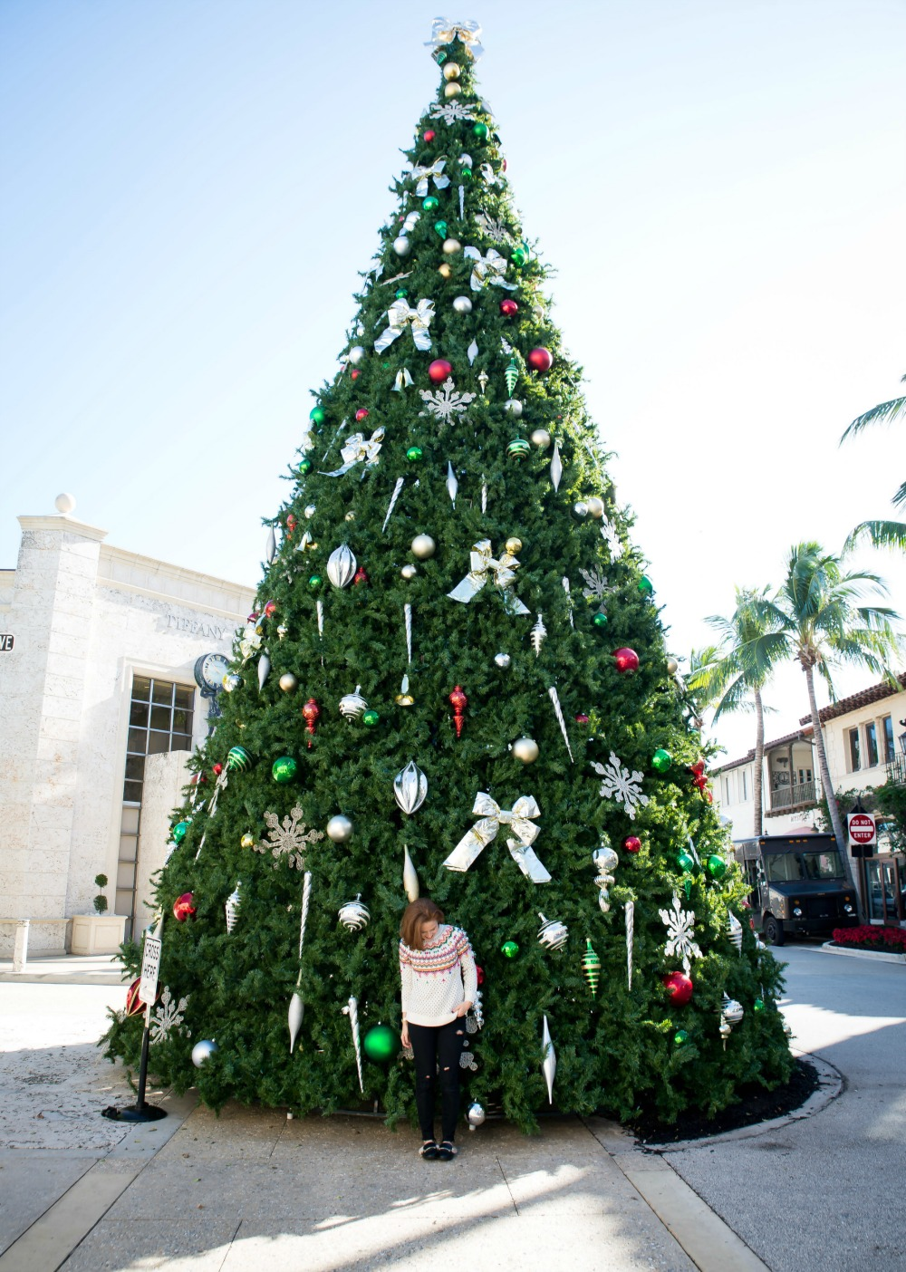 Christmas in Palm Beach, on Worth Avenue