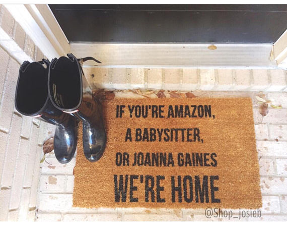 Where to find all the best and funniest door mats