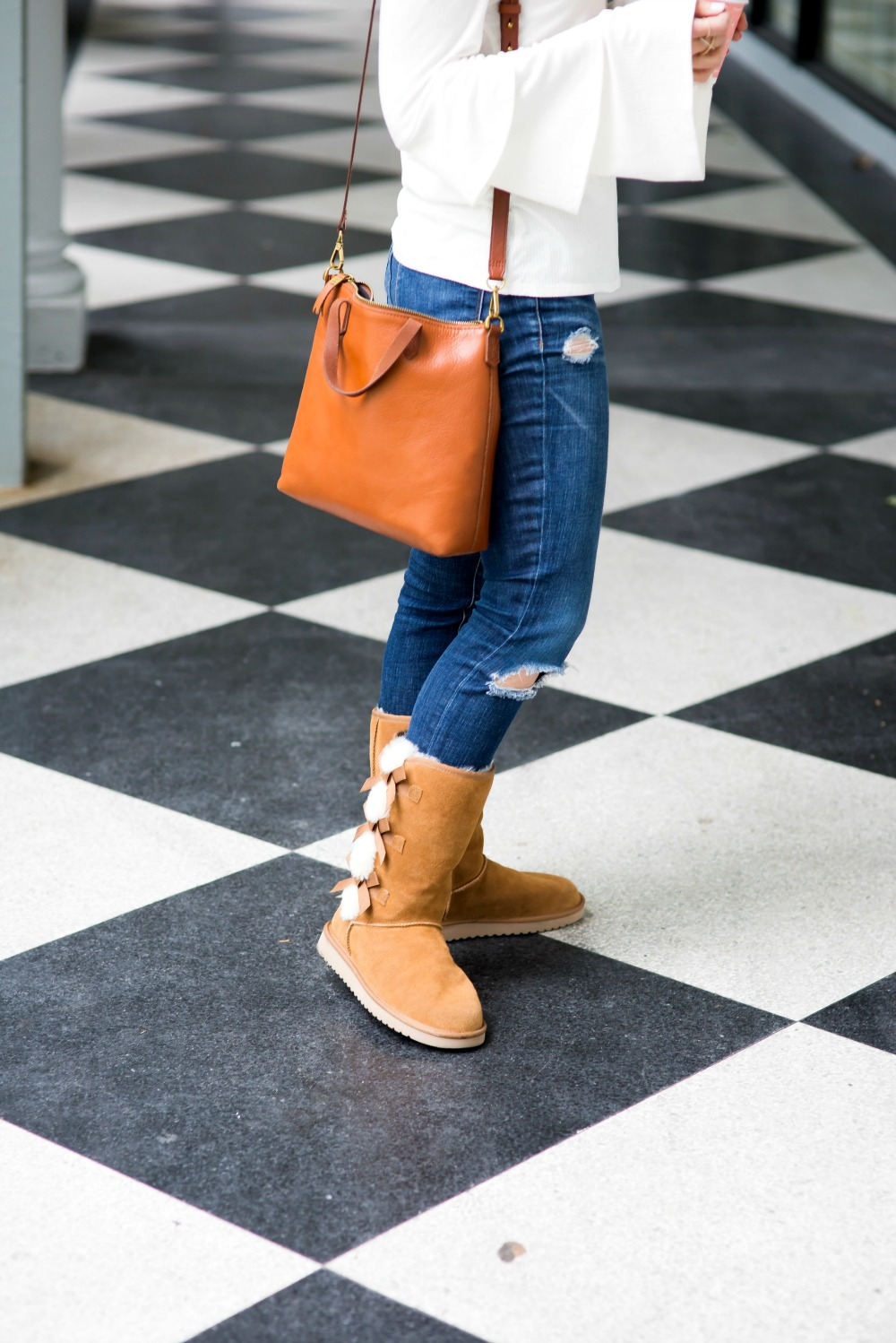 Cozy cute winter style - winter boots edition by popular Florida style blogger The Modern Savvy