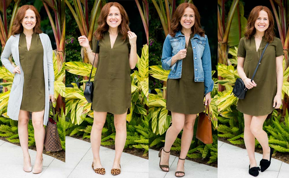 Four Ways to wear this everyday dress // the modern savvy - The $46 Versatile Dress You Need In Your Closet by popular Florida style blogger The odern Savvy