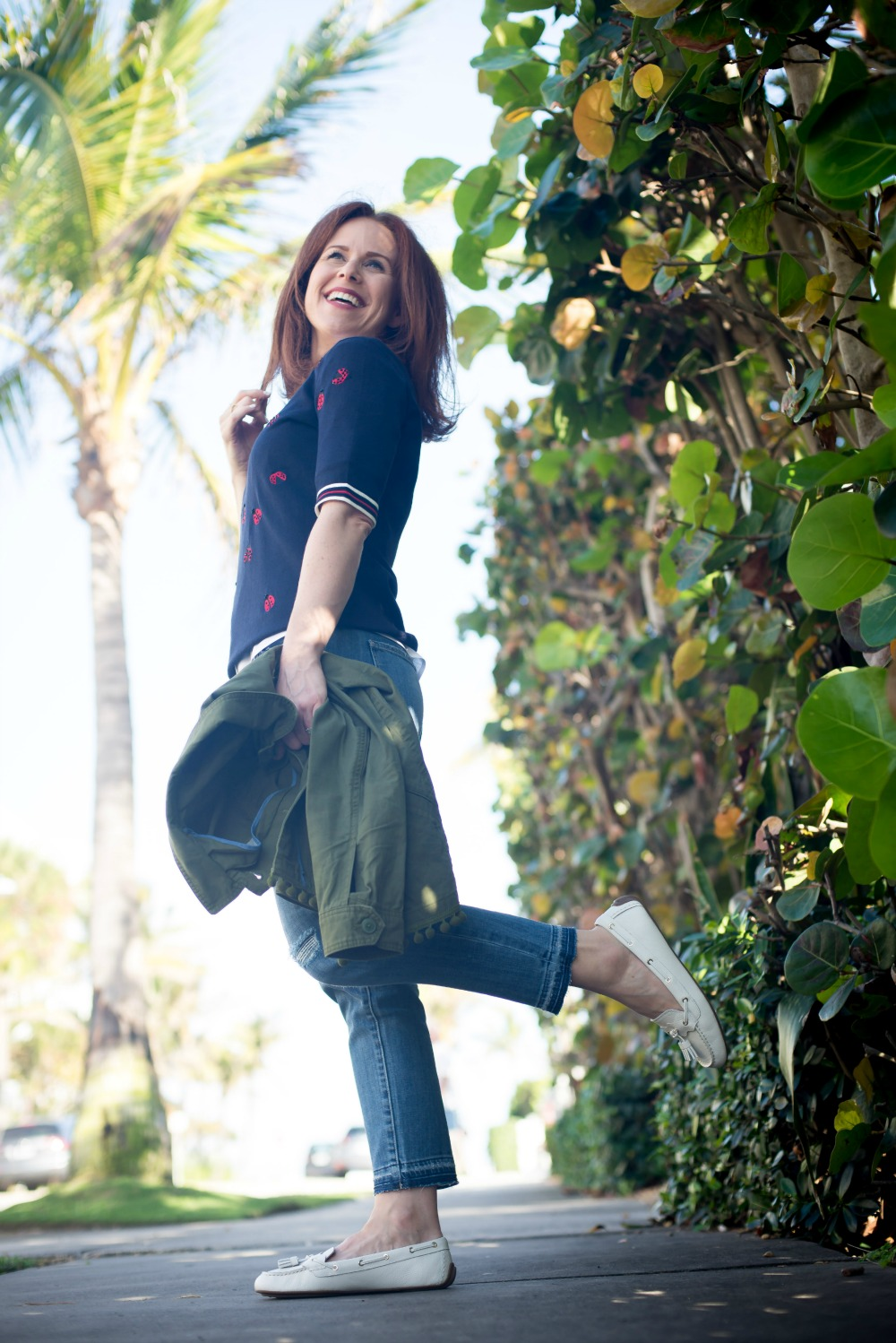 Spring in Palm Beach - Talbots collection with Oprah Magazine Collection 2018 - Popular Florida style blogger The Modern Savvy