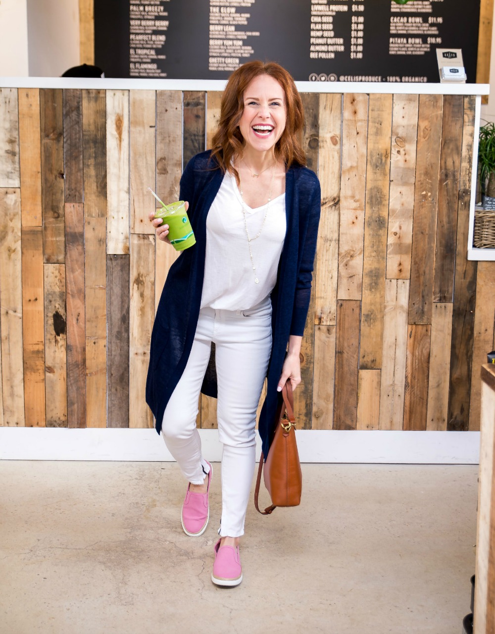 #momlife // Easy mom-on-the-go outfit, from the modern savvy, a life & style blogger in Florida - White Tee and Jeans outfit by popular Florida style blogger The Modern Savvy