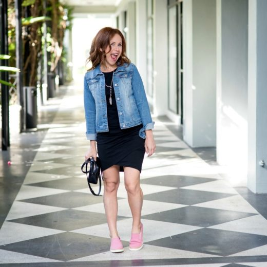 How to take this LBD (under $50!) from day to night