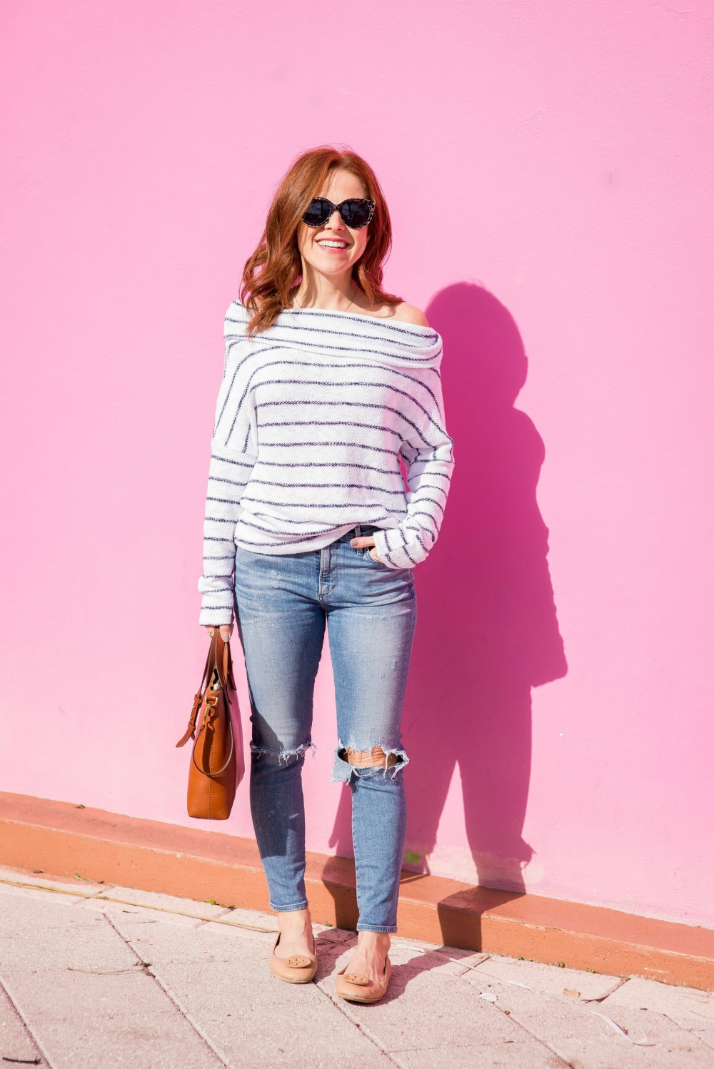 Easy spring outfit idea // the modern savvy - The most versatile striped top by popular Florida style blogger The Modern Savvy