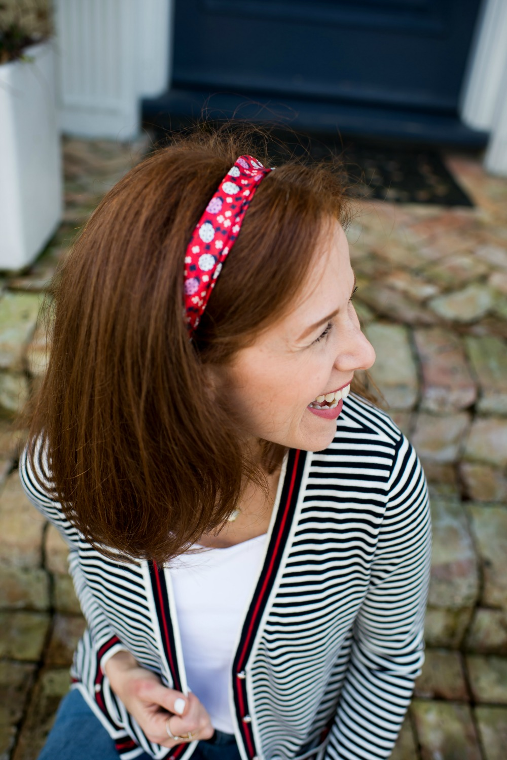 How to wear a scarf as a headband // the modern savvy, a west palm beach-based life & style blog