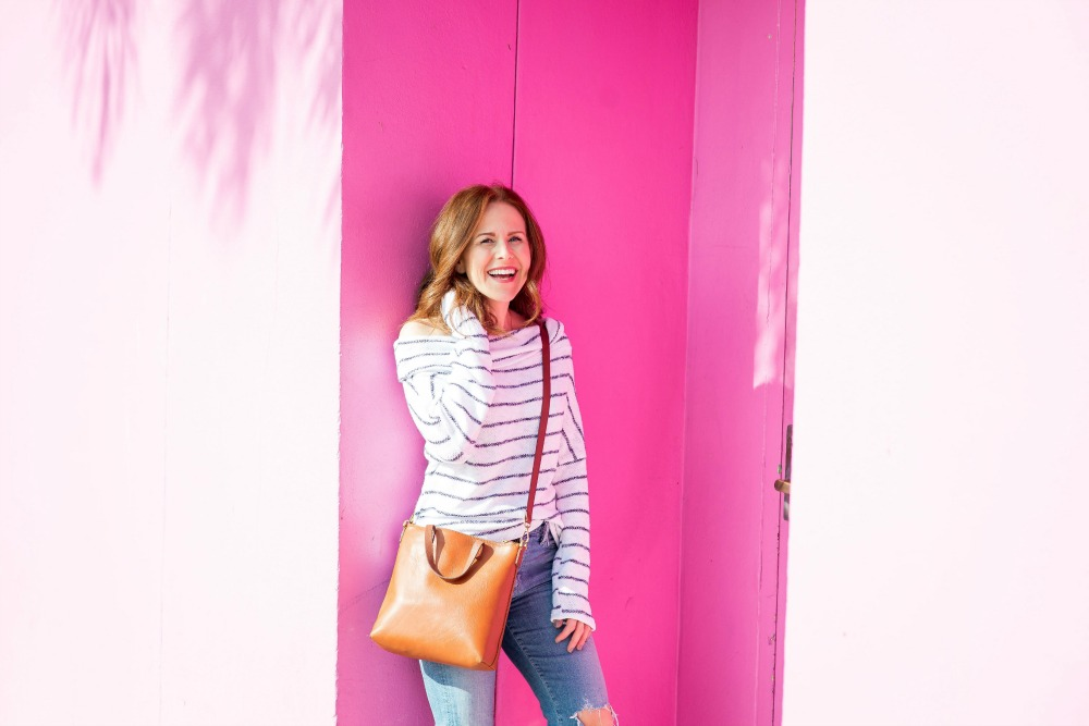 spring outfit ideas - the most versatile striped top by popular Florida fashion blogger The Modern Savvy