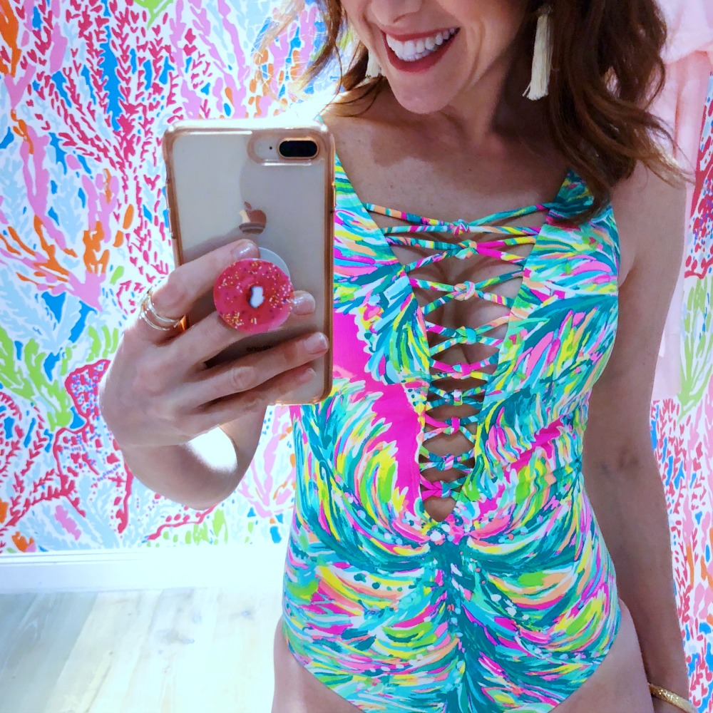 Lilly Pulitzer new swim collection - Alyson's Obsessions: Current Favorites by popular Florida lifestyle blogger The Modern Savvy