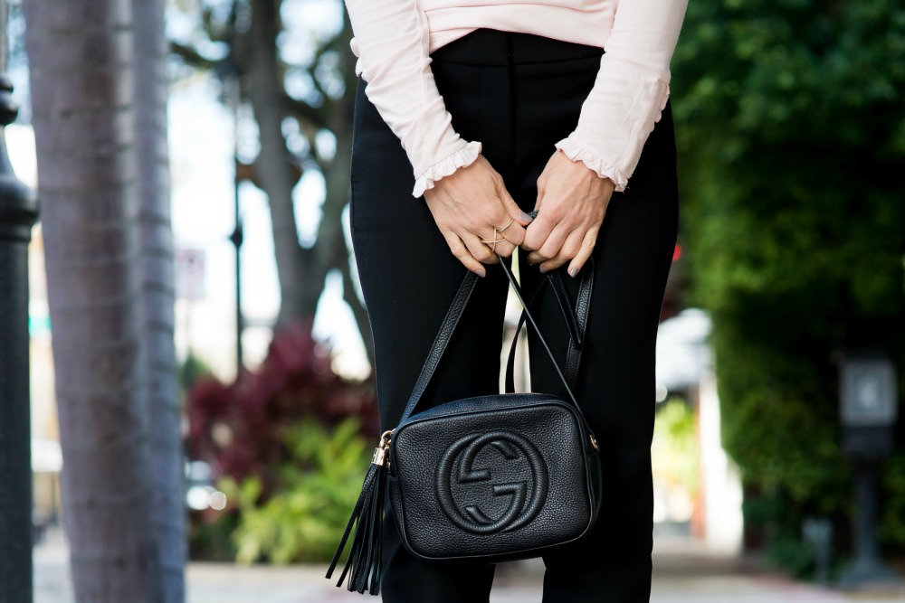 Gucci disco bag // the modern savvy blog - The Easiest Way to Update Your Work Outfit by popular Florida style blogger The Modern Savvy