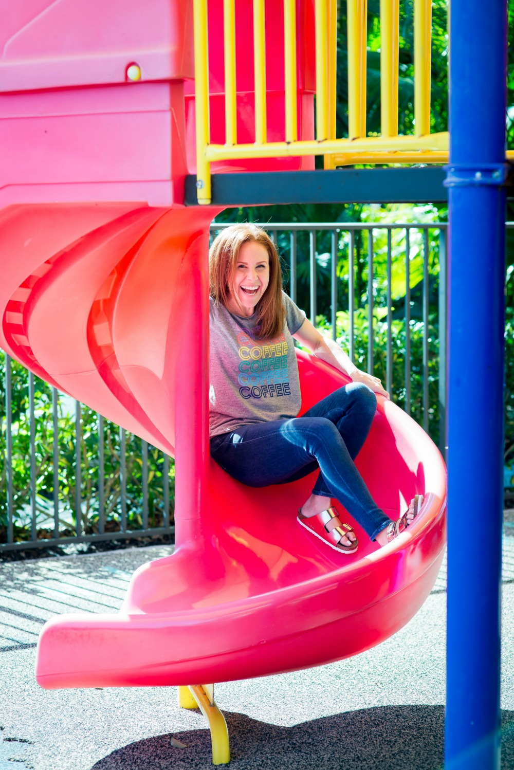 Playground play date -- moms should have fun too! // the modern savvy - Park Play Date by popular Florida blogger The Modern Savvy