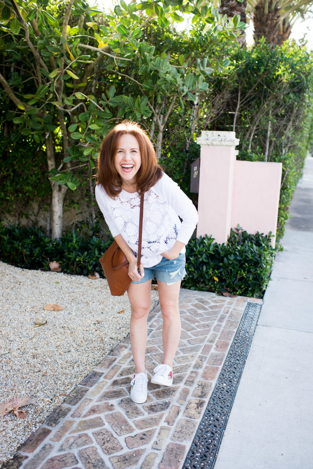 Alyson Seligman of The Modern Savvy talks how to style sweatshirts for spring