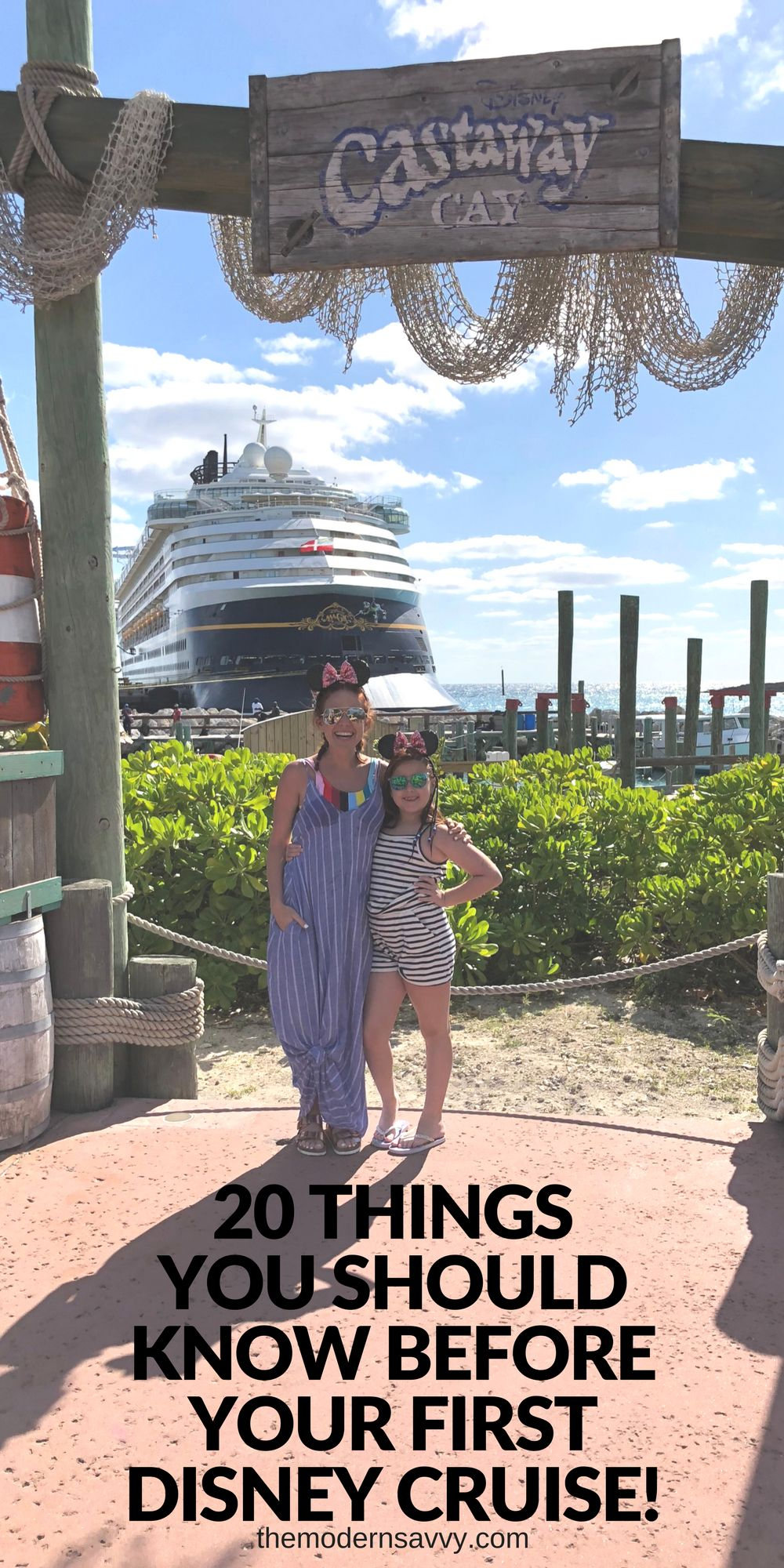20 Things You Should Know Before Your FIrst Disney Cruise -- what to bring, what to expect, how to pack // the modern savvy, a florida-based life and style blog