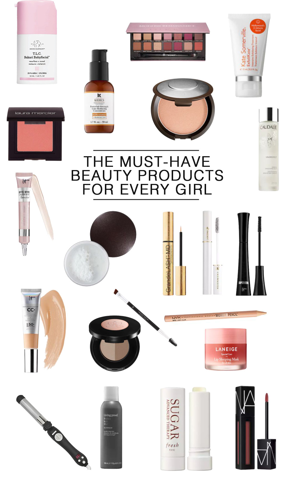 The Ultimate Beauty Products List for the Every Girl by popular Florida style blogger, The Modern Savvy