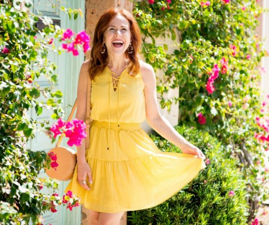 The Spring Dress Essential - Cute Yellow Dress styled by popular Florida fashion blogger, The Modern Savvy