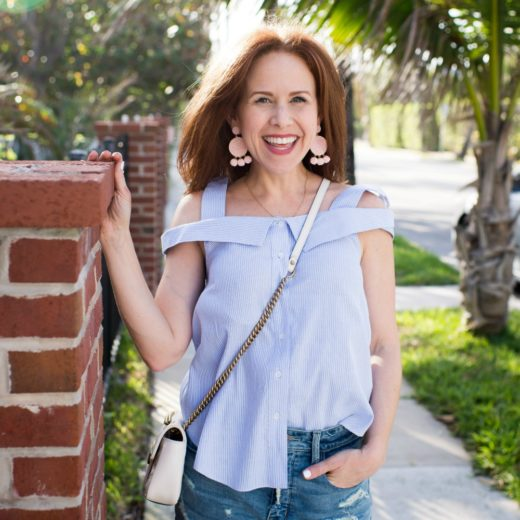How to Dress Up Denim Shorts for SPring // the modern savvy, a life & style blog