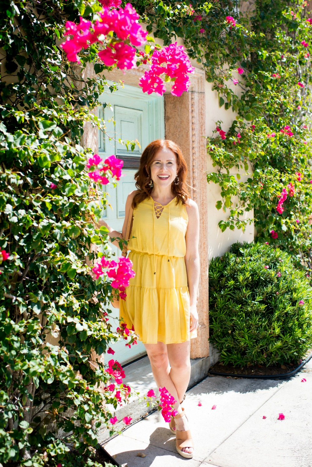 The yellow dress for spring // the modern savvy, a life & style blog in florida - Cute Yellow Dress styled by popular Florida fashion blogger, The Modern Savvy