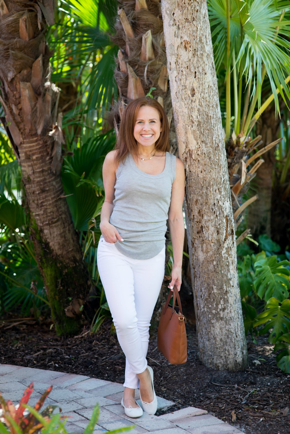 The perfect tank under $30 // the modern savvy - Spring Tank styled by popular Florida style blogger, The Modern Savvy