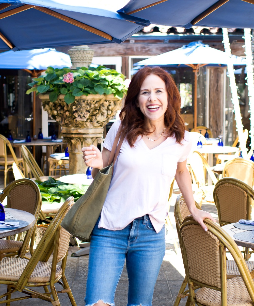 Style that works for this redhead (yes, you can wear pink!) // the modern savvy, a florida life & style blog -  - How to Style Leopard Sneakers by popular Florida style blogger, THE MODERN SAVVY