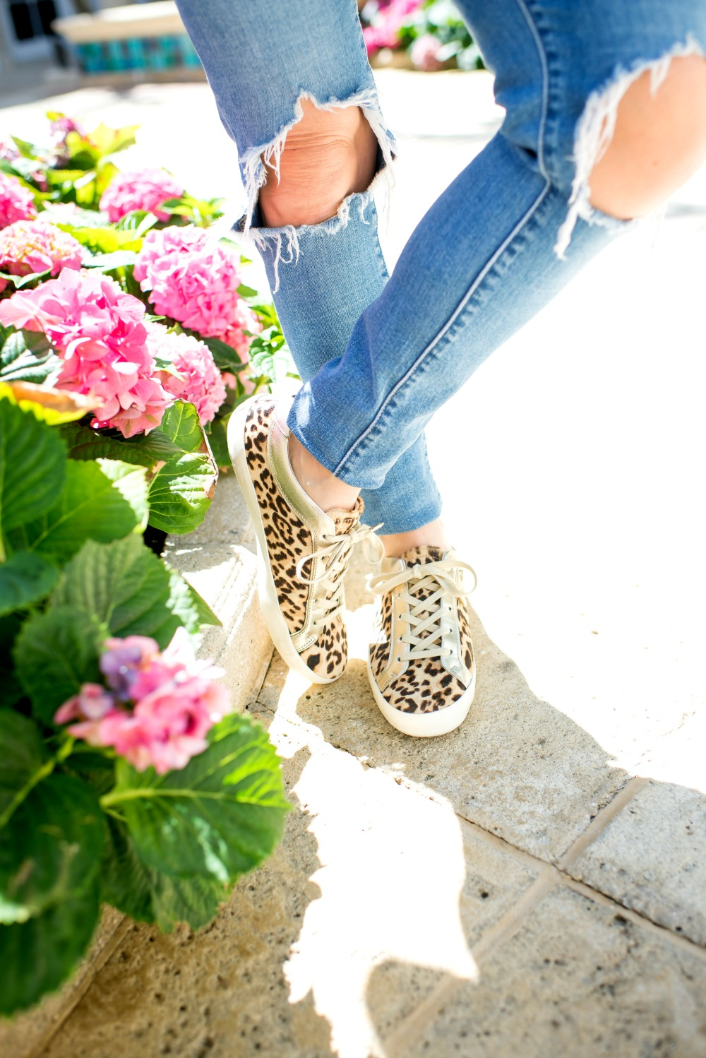 leopard sneakers // the modern savvy -  - How to Style Leopard Sneakers by popular Florida style blogger, THE MODERN SAVVY
