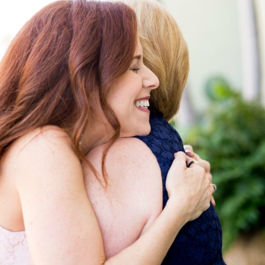 Mother daughter hugs // the modern savvy, a life & style blog - Mother Daughter style: Lessons My Mother Taught Me by popular Florida lifestyle blogger, The Modern Savvy