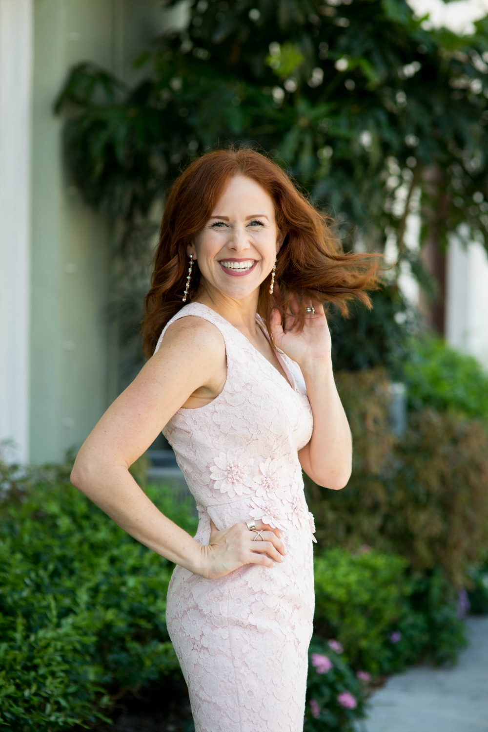 Redheads can wear pink // the modern savvy -  Mother Daughter style: Lessons My Mother Taught Me by popular Florida lifestyle blogger, The Modern Savvy