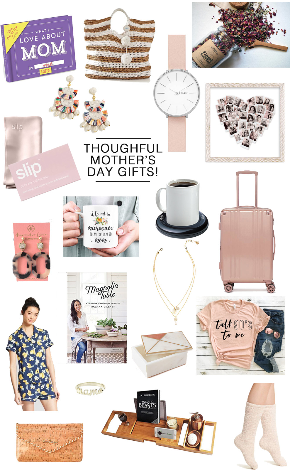 Super Thoughtful Mother's Day Gifts featured by popular Florida lifestyle blogger, The Modern Savvy