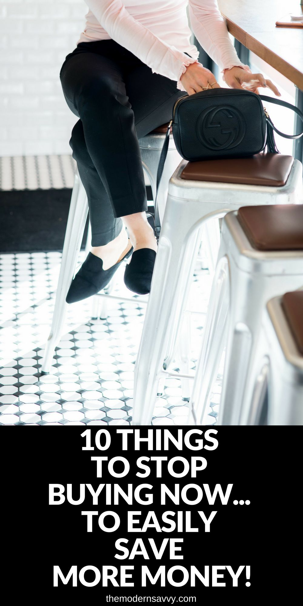 10 Things You Can Stop Buying Now... so you can easily save more money - 10 Things to Stop Buying to Save Money featured by popular Florida lifestyle blogger, The Modern Savvy