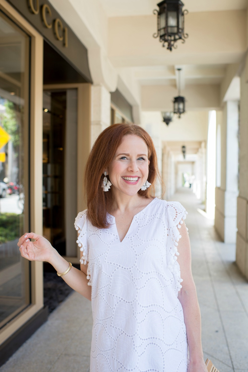 White dress with white accessories for summer // the modern savvy - The Little White Dress featured by popular Florida style blogger, The Modern Savvy