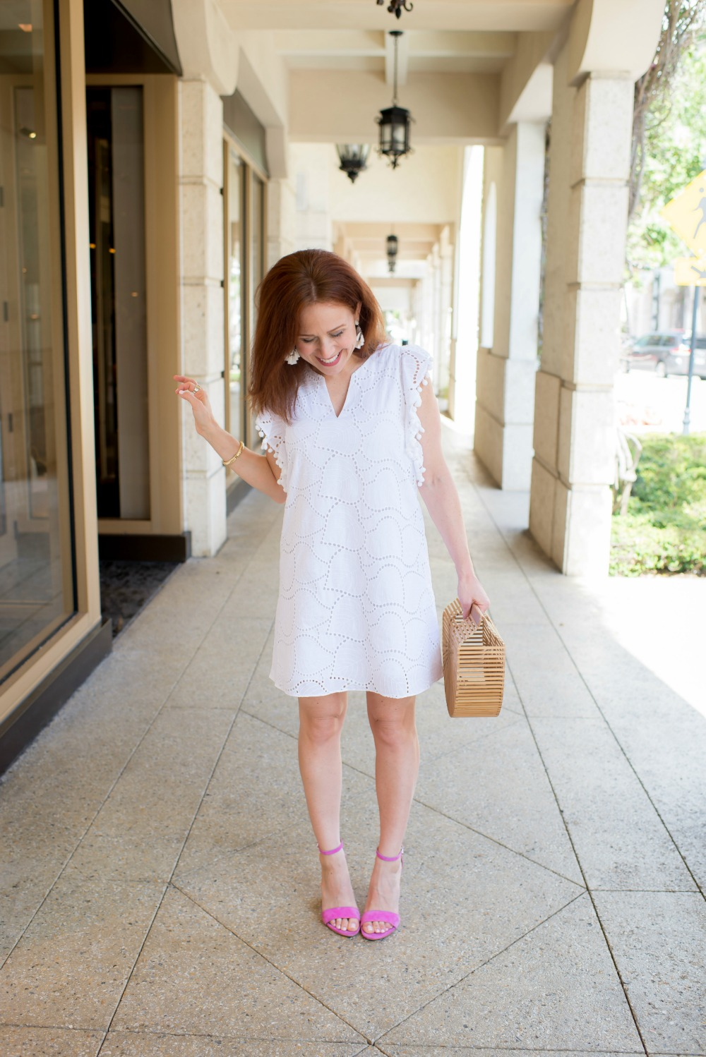 How to Style the Little White Dress // the modern savvy, life & style blog - The Little White Dress featured by popular Florida style blogger, The Modern Savvy