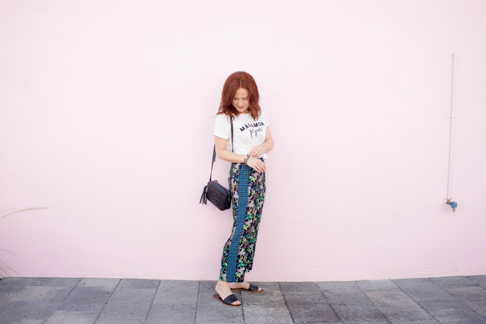 Cropped Wide Leg Pants // the modern savvy - Cropped Wide Leg Pants featured by popular Florida style blogger The Modern Savvy