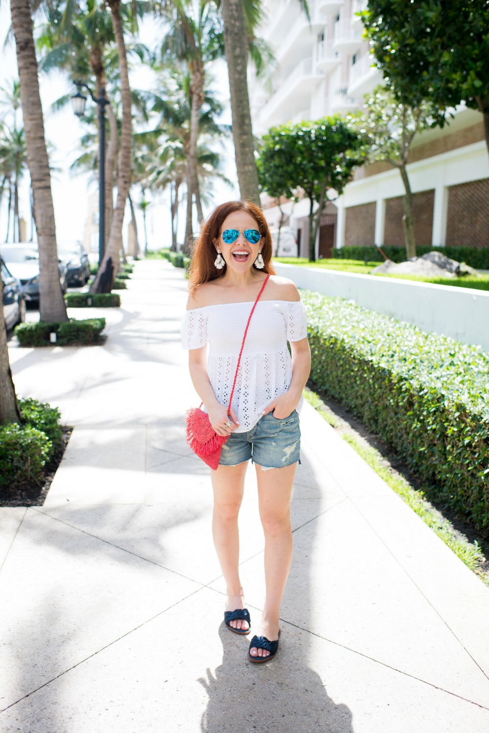 Fun summer & 4th of July outfits - Casual Cute 4th of July Outfit featured by popular Florida style blogger, The Modern Savvy