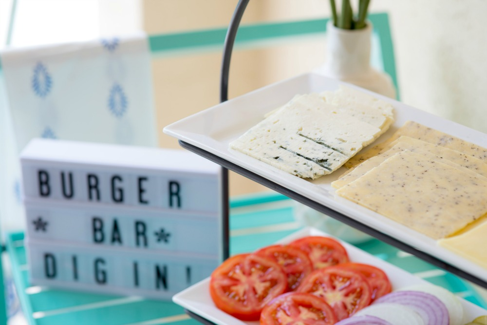 Make Your Own Burger Bar with Castello Cheese featured by popular Florida lifestyle blogger The Modern Savvy